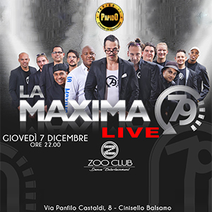 07/12/2017 – LA MAXIMA – ZOO CLUB – MILANO