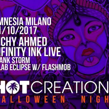 31/10/2017 – HOT CREATIONS – AMNESIA – MILANO
