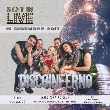 16/12/2017 – STAY IN LIVE – MILLIONAIRE CLUB