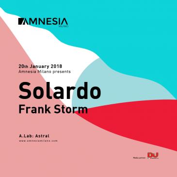20/01/2018 – SOLARDO – AMNESIA MILANO