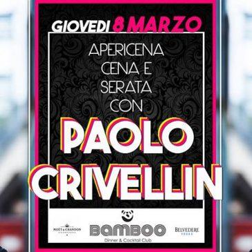 08/03/2018 – FESTA DELLA DONNA CON PAOLO CRIVELLIN – BAMBOO – TORINO