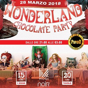 28/03/2018 – ALICE IN WONDERLAND – NOIR – LISSONE