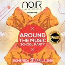 29/04/2018 – AROUND THE MUSIC – NOIR – LISSONE