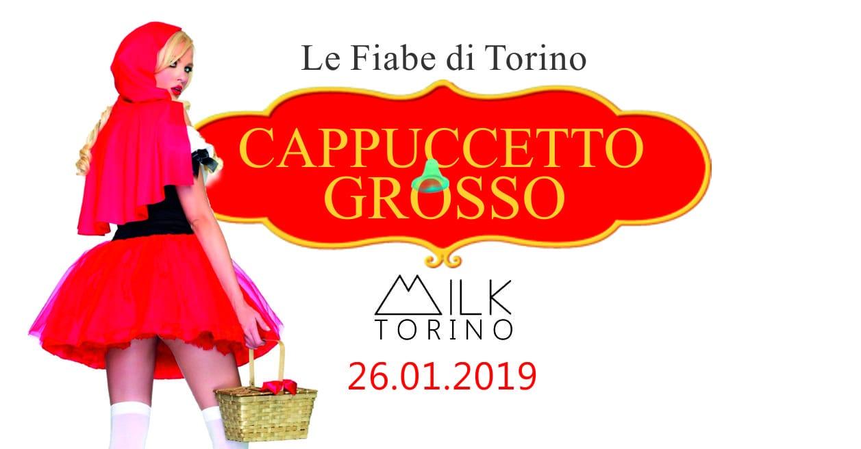 26012019 Cappuccetto Grosso Milk Torino Ticket Gold
